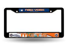 New York Mets BLACK Plastic LBL License Plate Frame Tag Cover Baseball