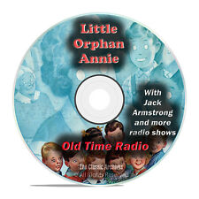 Little Orphan Annie, 966 Old Time Radio Comedy Variety Children's Shows DVD G68