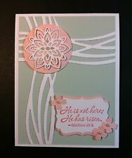 Handmade Stampin' Up Easter Cross Greeting Card