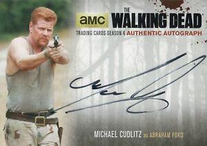 The Walking Dead Season 4, Michael Cudlitz 'Abraham Ford' Autograph Card MC2