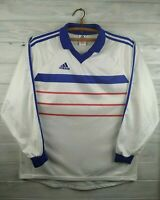 France style jersey 1998 2000 away long sleeve shirt soccer football XL Adidas