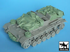 Black Dog 1/35 StuG III Ausf.C/D Tank Stowage & Accessories Set (Dragon) T35009