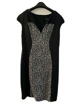 connected apparel Slimming dress Size 16 18 Magic Illusion Thinner Version Black