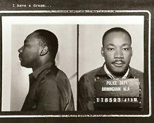 "Martin Luther King Print Historical Civil Rights Memorabilia 8"" X 10"""