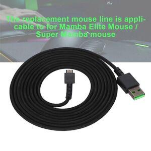 Ersatz Maus Kabel 2,2m USB Kabel Mausleitung für Razer Super Mamba Gaming Maus