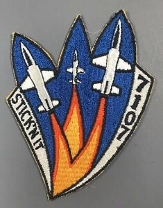 US Air Force Unknown Stick'n It 7107 Patch Cut Edges No Glow