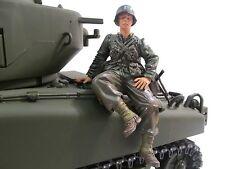 Mato Mf2003 1/16 Tank HengLong Tamiya Wwâ…¡ Us Figurine Commander American Soldier