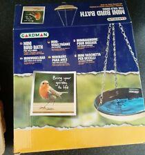 GARDMAN CERAMIC MINI HANGING BIRD BATH