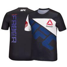 Urijah Faber Reebok UFC Men's Black Fight Kit Walkout Jersey AT5976