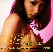 """SOCA GOLD 1998"" (CD, VP Records) 16-Tracks Beenie Man/Onyan ***GREAT SHAPE***"
