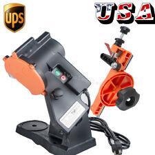4800RPM Electric Chainsaw Chain Saw Sharpener Grinder W/ Work Bench Mount Shop