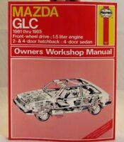 Mazda GLC 1981-1985 Workshop Repair Manual - Haynes - 61011 ( 757 )