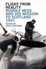 WW2 Flight from Reality Rudolf Hess Scotland Reference Book