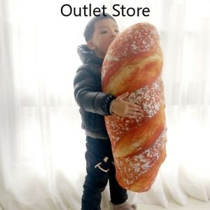 Simulation Printing Butter Bread Biscuits Fritters Home Pillow Gifts Plush Toys
