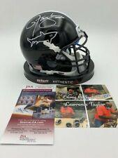 """Lawrence Taylor Signed Miami Sharks """"Any Given Sunday"""" Mini Helmet JSA - Photo"""