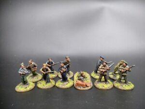 Well Painted Bolt Action Partisans 11 pcs