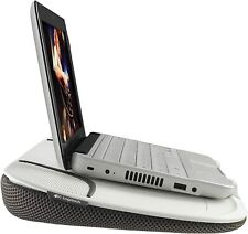Logitech N550 Speaker Lapdesk for Compact Laptop Computer Notebook Plug & Play