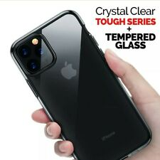 Anti-shock Heavy-duty Hybrid Clear Transparent Hard Back Cover iPhone 11 Pro Max