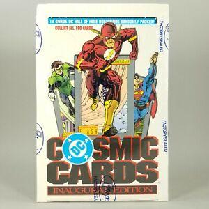 Rare NIB Vtg 1991 DC Comics COSMIC CARDS Inaugural Edition FACTORY SEALED HTF