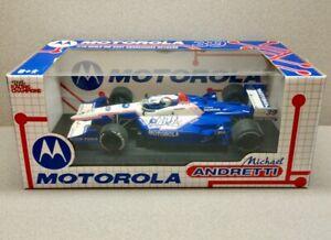 2002 MICHAEL ANDRETTI signed RACING CHAMPIONS Motorola Honda 1/18 Diecast