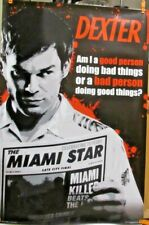 DEXTER -THE MIAMI STAR 24x36 TV POSTER Showtime