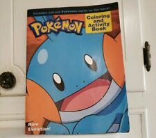 Coloring And Activity Book POKEMON 2005 Rare Evolution 3rd Gen Generation Spheal