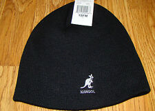 Kangol  Cuffless  Pull-On  Skull  Cap  Black  2301BC
