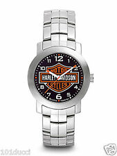 New Harley Davidson by Bulova #76A019 Stainless Steel Men's Watch