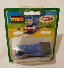 Thomas The Tank Engine & Friends BRIO SIR HANDEL WOOD TRAIN WOODEN NEW IN BOX
