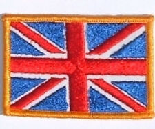 BRITISH UNION JACK FLAG SEW ON  PATCH UNUSED
