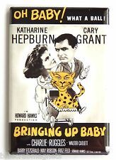 Bringing Up Baby FRIDGE MAGNET (2 x 3 inches) movie poster cary grant hepburn