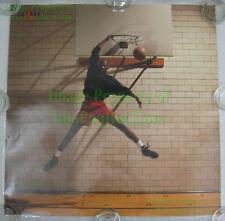 NITF! Vintage NIKE Poster Michael Air Jordan Reverse DUNK Jumpman Pro Laminated