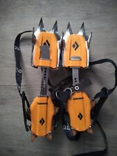 Black Diamond Contact Strap Crampons With Abs Plates