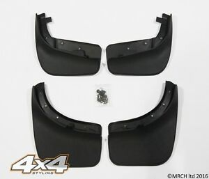For Volkswagen Touareg 2011+ Mud Guards Mud Flaps Set (4 pieces)