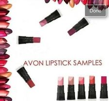 10 X Avon Mini Lipstick Samples Different Shades Stocking Hen Party Bag Fillers