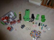 Minecraft Creeper Enderman Torch Accessories Figurines