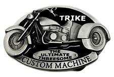 Trike Belt Buckle Red Black Custom Machine Bike Authentic Dragon Designs Product