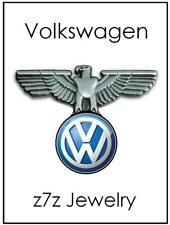 VW Lapel Pin - volkswagen logo emblem w/ german eagle auto badge jewelry z7qq