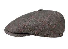 Stetson Europe Flat Cap Herringbone Newsboy The Oregon Wool Cap XL 61CM