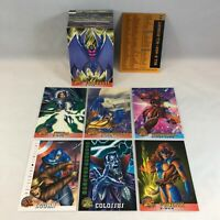 X-MEN 1996 FLEER RETAIL EXCLUSIVE Complete Trading Card Set (from Wal-Mart) 100