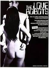 THE LOVE ROBOTS Movie POSTER 27x40 Rika Mizuki Mari Mukai J ji  hara Hideo Saeki
