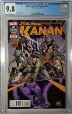 Kanan the Last Padawan #6 CGC 9.8 NM/MT 1st Full Appearance Sabine, Hera, Ezra