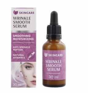 SkinCare Sérum anti -rides aux peptides et vitamines E naturelle 30 ml