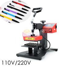 6Pcs Digital Pen Heat Press Machine for Ball-point Pen Heat Transfer Printing