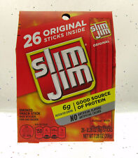 Slim Jim Slim Jim's ~ American Snack Food Original ~ 26 count Box