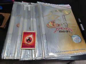 Pokemon TCG JP Neo Premium File Folder Brand new sealed!!  Holo Typhlosion Mint!