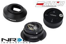 NRG Steering Wheel Hub / 2.5 Quick Release Black for 350z 370z G35 G37 Lock Matt