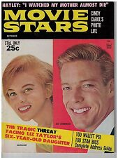 Oct 1963 edition of Movie Stars magazine Ann-Margret & Richard Chamberlin