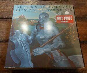 RETURN FOR FOREVER- ROMANTIC WARRIOR LP CBS 32533 CBS RECORDS REISSUE NEAR MINT!