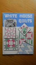20 different WHITE HOUSE QUILTS w/ instruction, pictures & patterns, 1977, EC